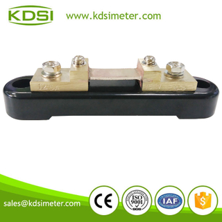 20 Years Manufacturing Experience BE-75mV 125A dc current shunt resistor for amp panel meter