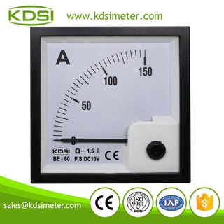 Factory direct sales BE-80 DC10V 150A analog dc voltage ampere meter
