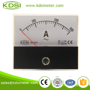 Easy installation BP-670 60*70 AC300/5A analog ac ampere meter