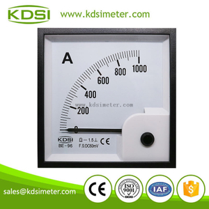 China Supplier BE-96 DC60mV 1000A ammeter with output