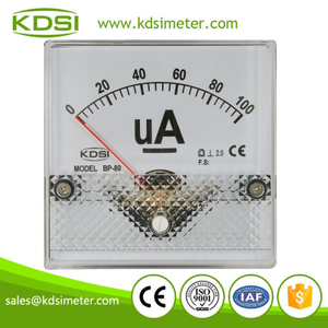 High quality professional BP-80 DC100uA analog panel microammeter