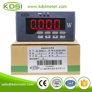 High Accuracy digital meter single-phase BE-96x48P AC750/100V 1200/5A digital power meter