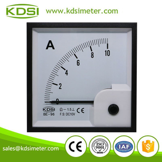 CE Approved BE-96 DC10V 10A analog voltage ampere meter