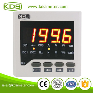 High quality professional 72x72 BE-72DA DC+-60mV+-200A power supply DC48V digital dc ammeter