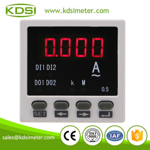 Portable precise BE-48AA AC5A single phase led digital ac ampere current meter