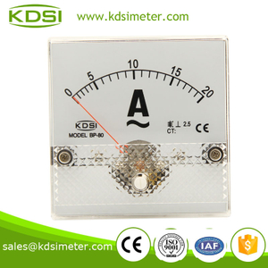 BP-80 80*80 AC Ammeter AC20A analog panel gauges