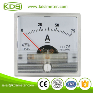 Original manufaturer high quality BP-45 BP-45 DC50mV 75A analog dc current meter