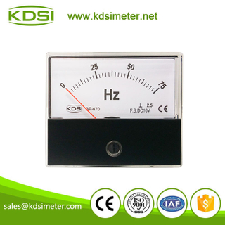 CE certificate BP-670 Frequency meter DC10V 75HZ voltage frequency meter