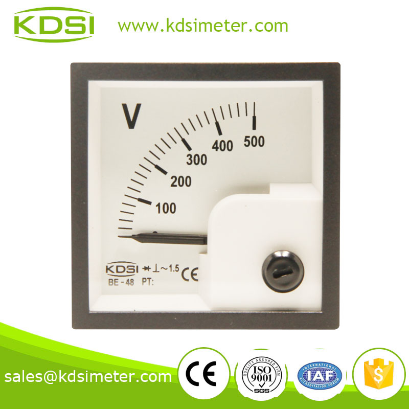 KDSI BE-48 AC500V AC voltmeter with rectifier