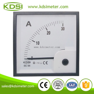 Original manufaturer Best Quality BE-96 DC Ammeter DC30A auto ampere meter