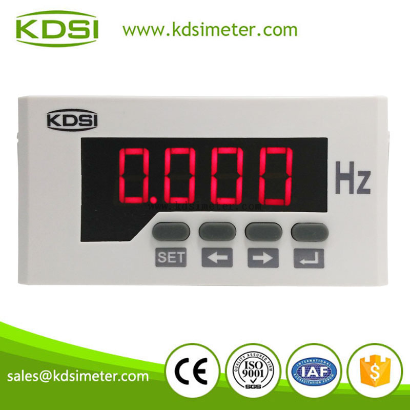 Hz meter BE-96x48 F 45-65Hz single-phase digital Led Frequency meter