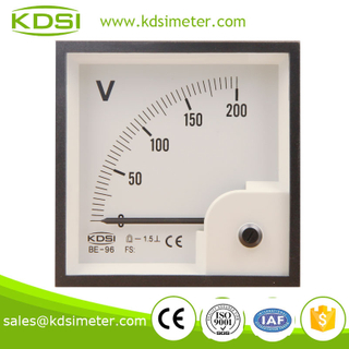 Taiwan Technology BE-96 96 * 96 DC200V analog dc panel meter