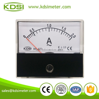 China Supplier KDSI BP-670 AC2A analog ampere indicator