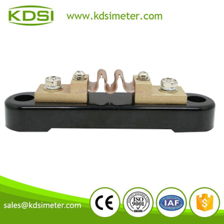 Electric current Shunt dc current BE-50mV 30A current resistor Class 0.2 shunt resistance for Ammeter
