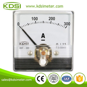 Hot Selling Good Quality BP-60N DC60mV 300A dc analog current panel meter