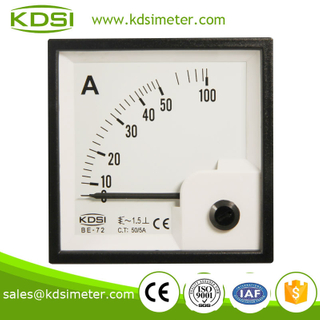Hot sales BE-72 AC50/5A super-mini ammeter