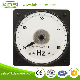 LS-110 Frequency meter 45-65HZ wide angle Frequency meter