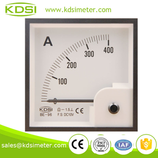 Hot sales BE-96 96*96 DC10V 400A electric current meter