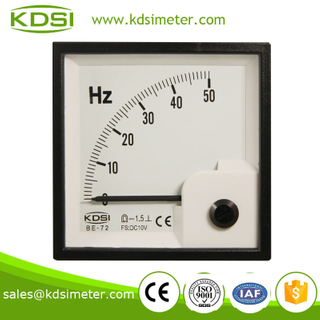 Easy installation BE-72 DC10V 50HZ voltage frequency meter