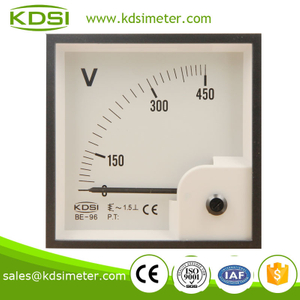 BE-96 96*96 AC Voltmeter AC450V analog voltmeter price