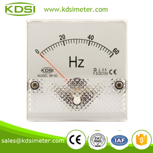 Small & high sensitivity BP-80 DC10V 60HZ voltage frequency meter