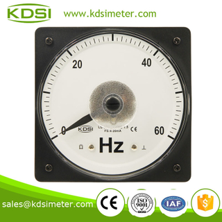 LS-110 Frequency meter DC4-20mA 0-60HZ wide angle current Frequency meter