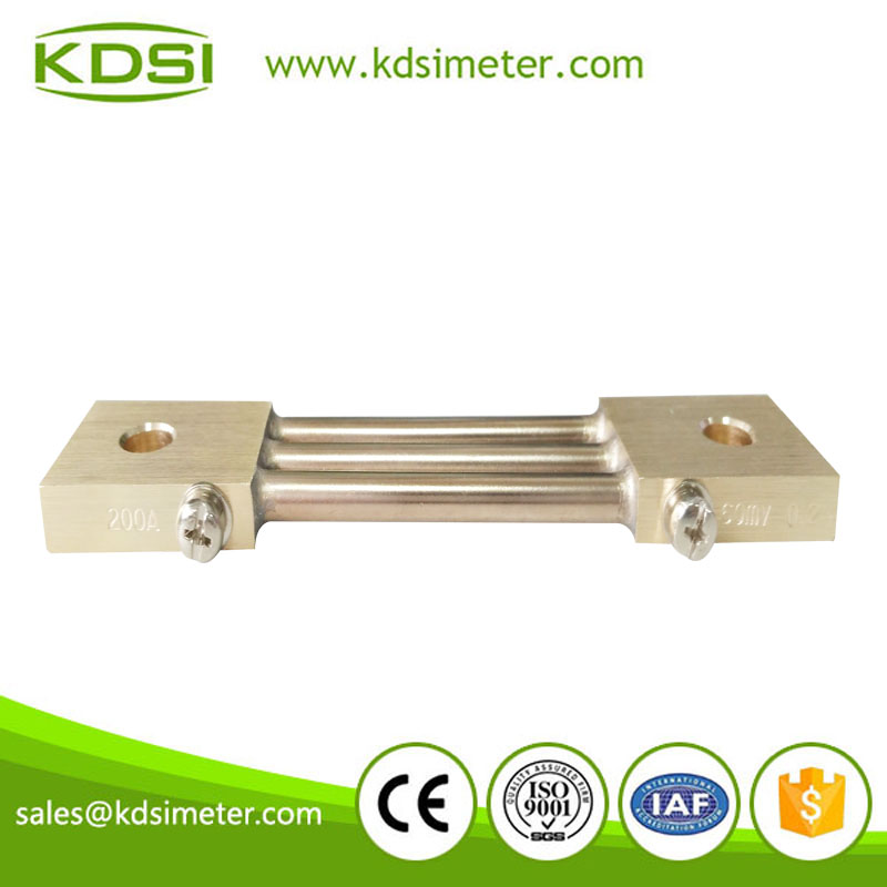 High quality Shunt BE- 60MV 200A CL0.2 current shunt resistor
