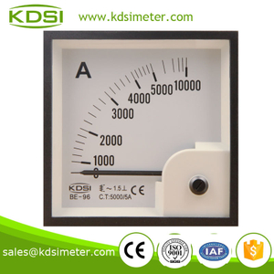 Hot sales BE-96 96*96 AC5000/5A analog ac ampere meter