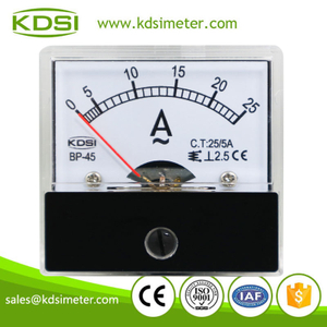 20 years Professional Manufacturer BP-45 AC25/5A analog amp current panel meter