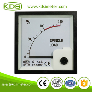 High quality professional BE-80 DC10V 150 percent analog panel spindle load meter