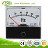 Easy installation BP-45 DC10V 100Hz Electricity analog panel voltage frequency meter
