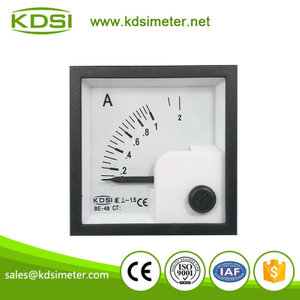 20 Years Manufacturing Experience BE-48 AC1A ac analog panel ammeter with output