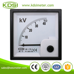 Factory direct sales BE-72 42kV 33/0.11kV rectifier ac analog voltage meter