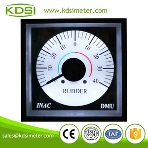 Original manufacturer high Quality BE-96W DC4-20mA +-40 wide angle analog panel marine RUDDER meter