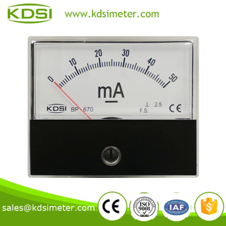 Educational Equipment BP-670 DC50mA portable current meter