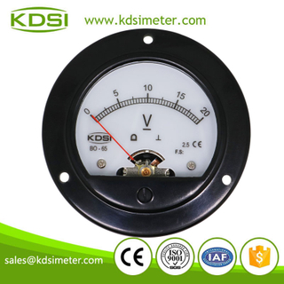 20 Years Manufacturing Experience BO-52 DC20V analog backlighting voltage panel mount gauge