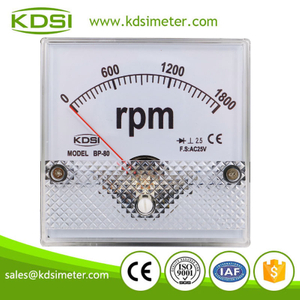 CE Approved BP-80 AC25V 1800rpm rectifier ac motor high rpm meter