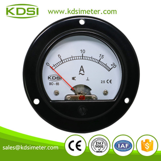 Hot Selling Good Quality BO-65 AC20A Moving Iron Movement round type panel meter