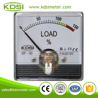 20 Years Manufacturing Experience BP-60N DC10V 150% analog panel voltage load meter