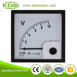 CE Approved BE-72 DC10V direct analog dc 72x72 panel meter