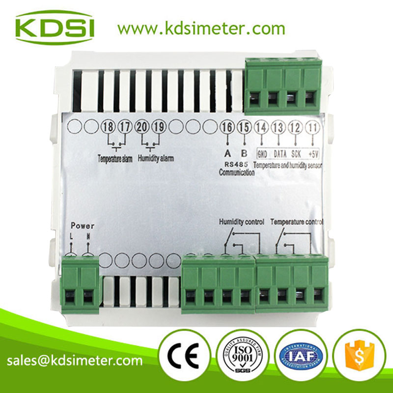 Square type BE-WSK-303 -40-100C 0-100RH digital temperature and humidity controller
