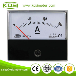 20 Years Manufacturing Experience BP-670 DC60mV 300A voltage and current meter panel meter