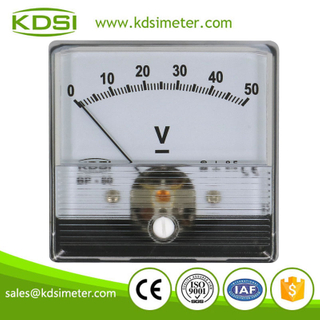 KDSI electronic apparatus BP-60N DC50V analog panel dc super-mini voltmeter