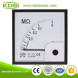 20 years Professional Manufacturer BE-96 DC10V ∞-0MΩ analog dc voltage electric resistance meter