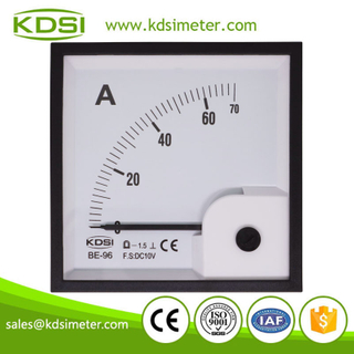 Factory direct sales BE-96 DC10V 70A dc analog amp current panel meter