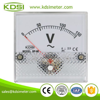 New Hot Sale Smart BP-80 AC150V panel analog ac ammeter ac voltmeter