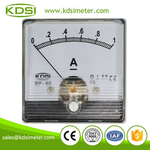 CE Approved BP-60N DC1A analog panel dc ampere indicator