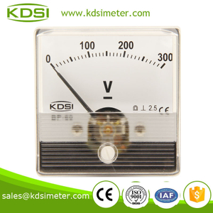 Special Meter for welding Machine BP-60N 60*60 DC300V analog dc voltmeter