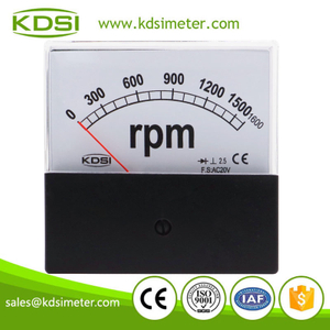 High quality professional BP-80 AC20V 1600rpm rectifier ac analog rpm speed meter