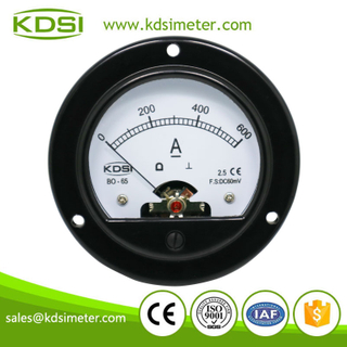 Classical BO-65 DC60mV 600A round analog panel meter
